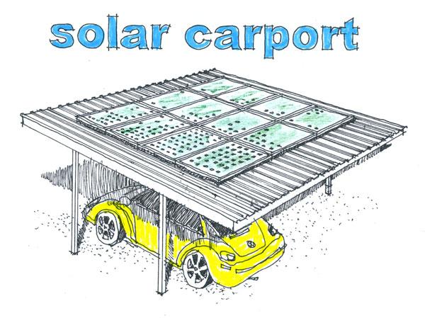 Solar Carport by Fine Lines: Solar Design & Installation